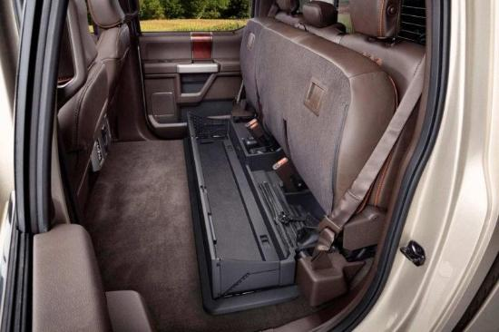 2017 Ford F-350 King Ranch Interior