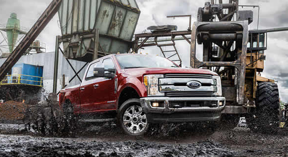 2017 Ford F-350 Exterior Front End