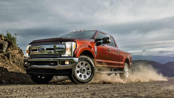 2017 Ford F-350 Super Duty Exterior Side View
