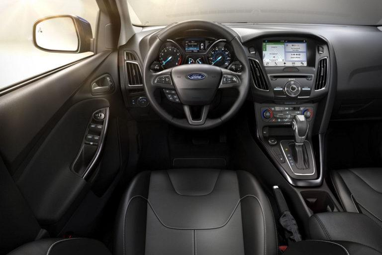 2017 Ford Focus Electric Interior Dashboard