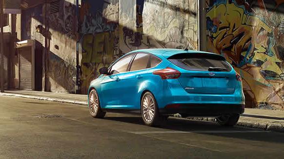 2017 Ford Focus Exterior Rear End