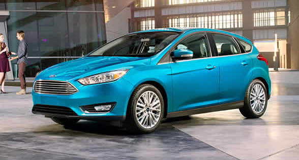 2017 Ford Focus Exterior Side View