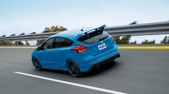 2017 Ford Focus RS Exterior Rear End