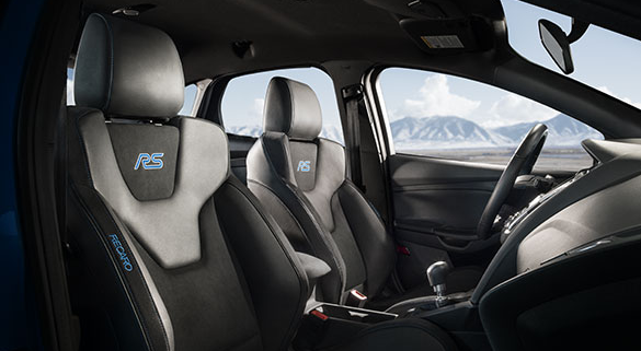 2017 Ford Focus RS Interior Seating