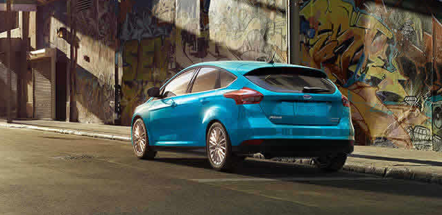2017 Ford Focus SE Exterior Rear End