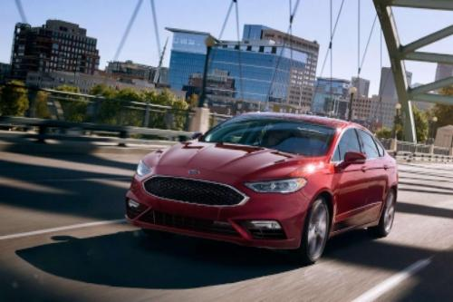 2017 Ford Fusion SE Exterior Front End