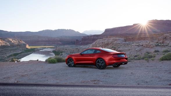 2017 Ford Mustang Exterior Side View