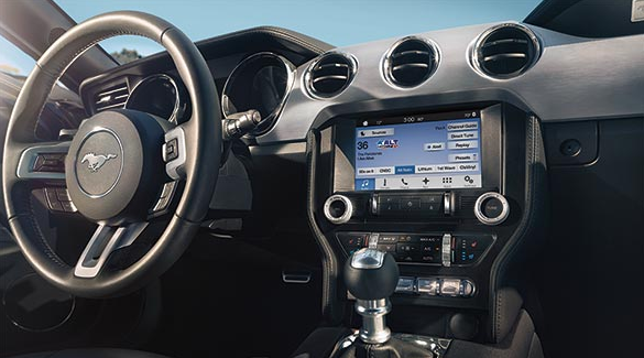 2017 Ford Mustang Interior Dashboard