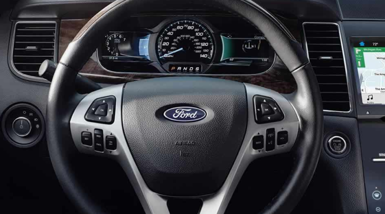 2017 Ford Taurus Interior Steering Wheel