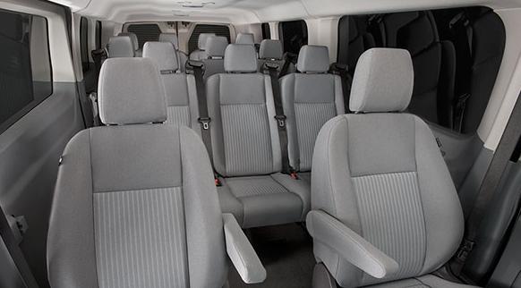 2017 Ford Transit Interior Seating