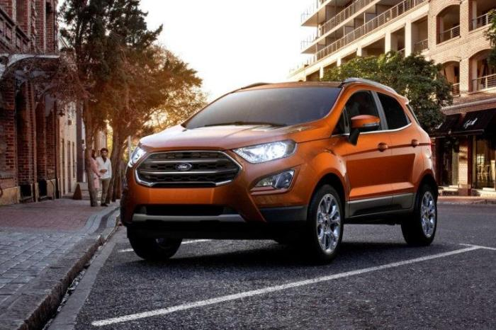 2017 Ford Eco Sport Exterior Front End