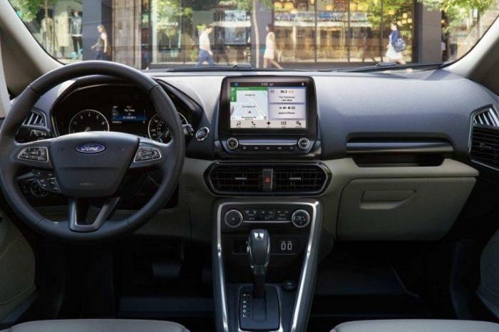 2017 Ford EcoSport Interior Dashboard