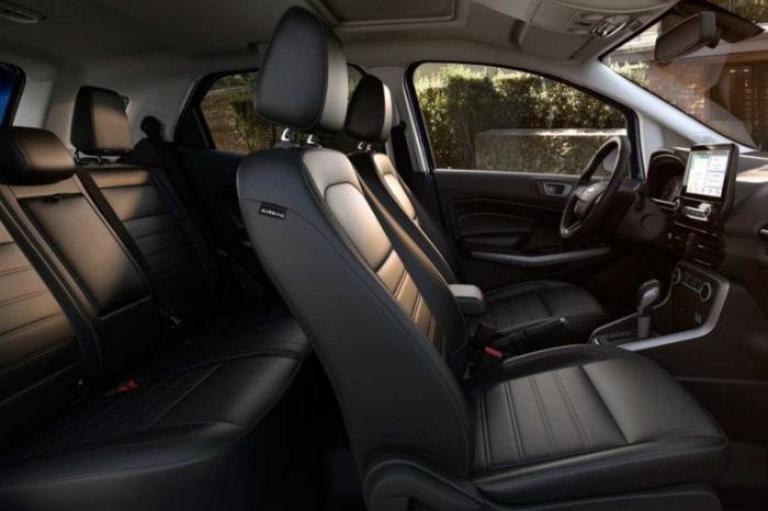 2017 Ford EcoSport Interior seating