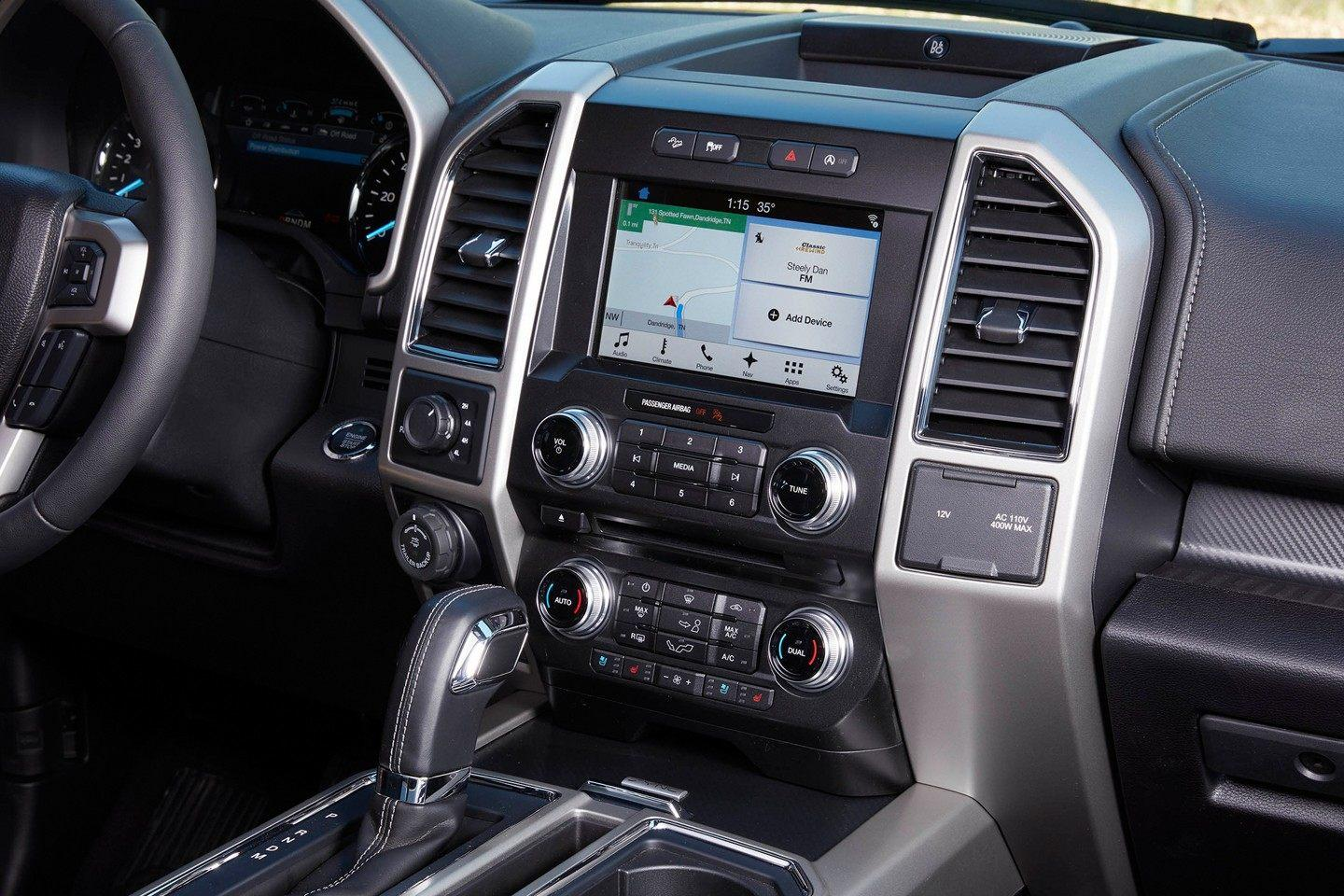 2018 Ford F-150 Lariat - Interior
