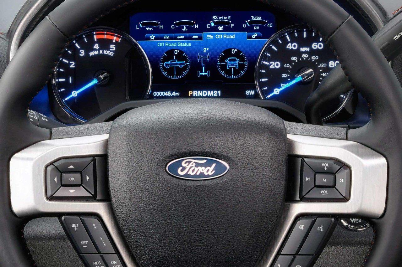 2018 Ford F-350 SuperDuty - Interior Dashboard