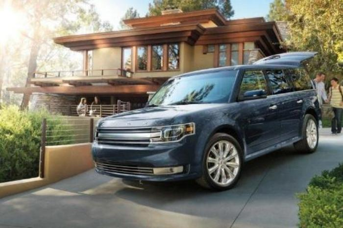 2017 Ford Flex Exterior Rear End