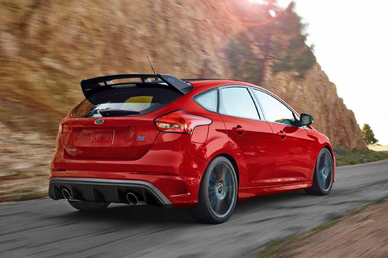 Ford Focus RS Exterior Rear