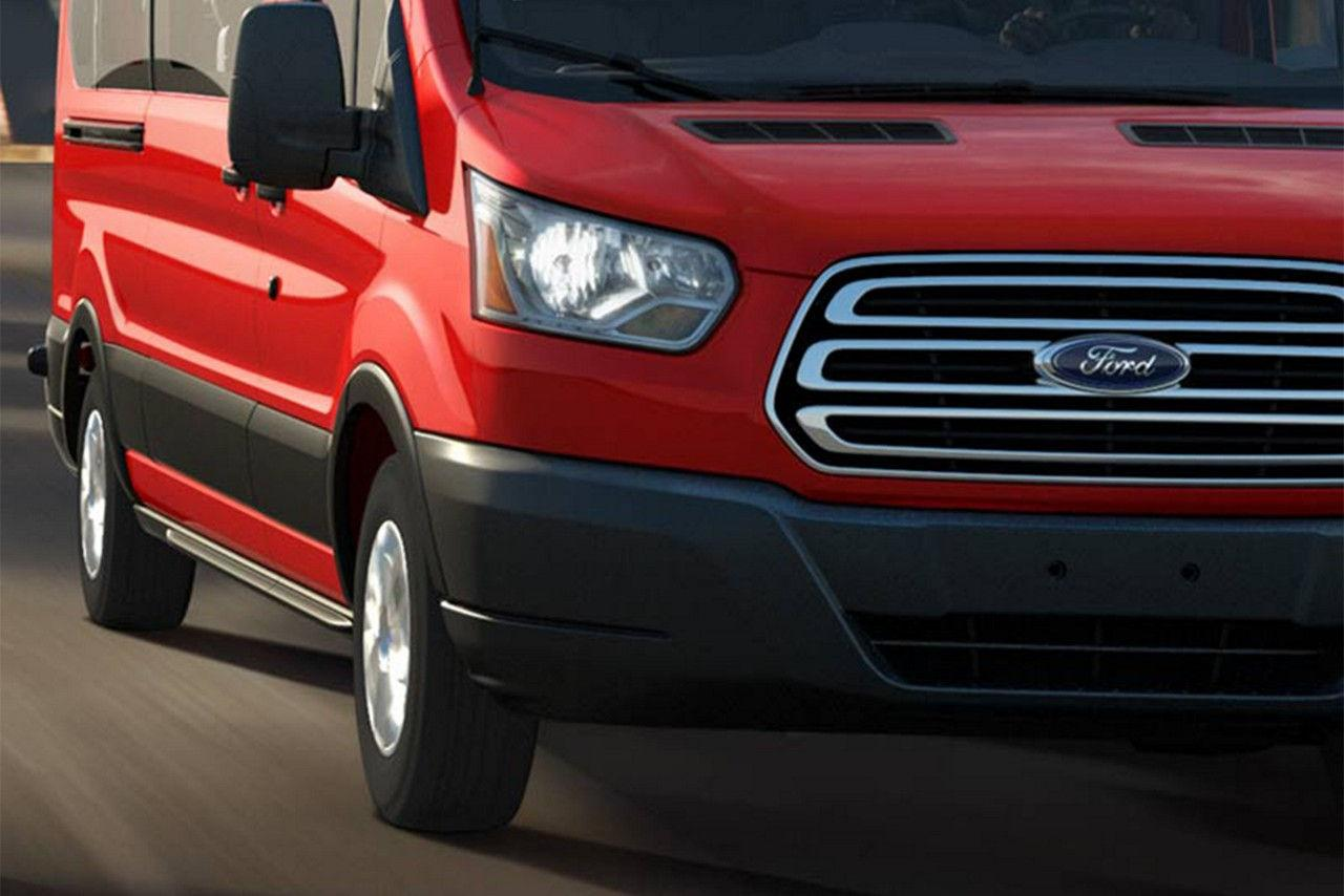 2018 Ford Transit Exterior Close Up