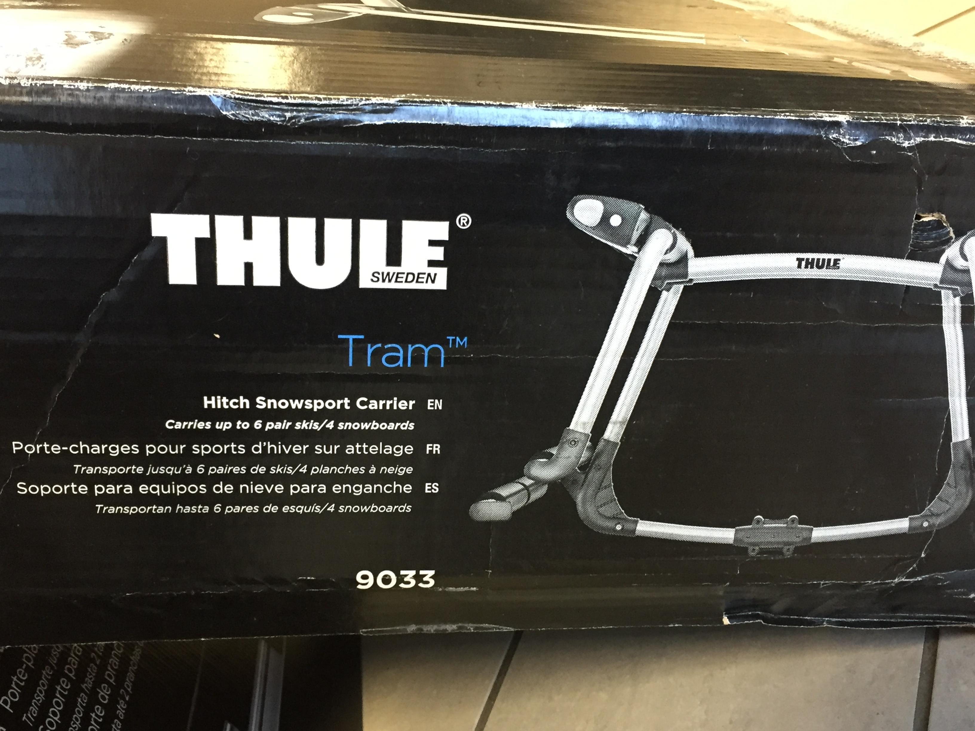 Thule Tram Hitch Snowsport Carrier