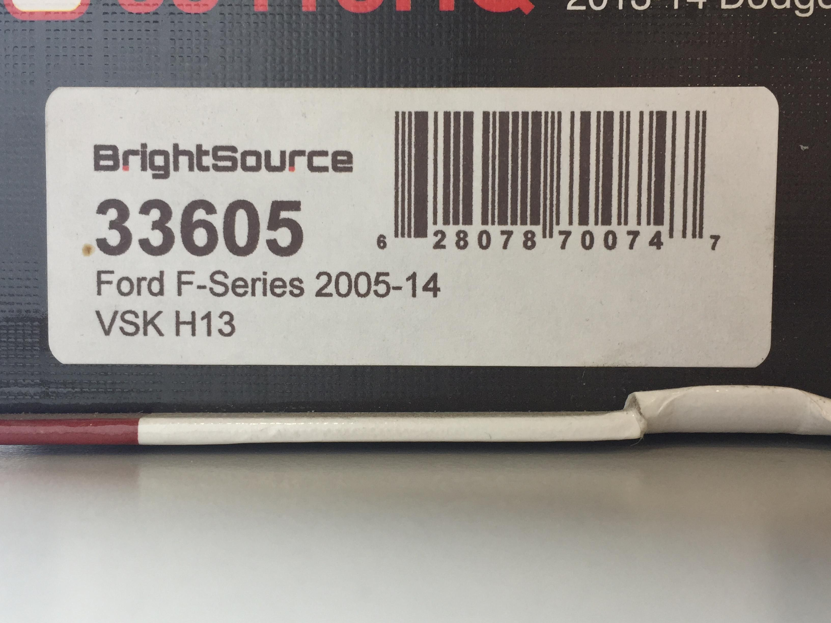 BrightSource HID Conversion Kit