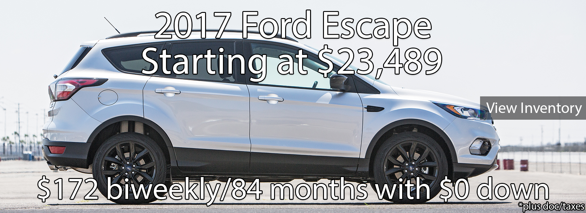 2017 Ford Escape Inventory