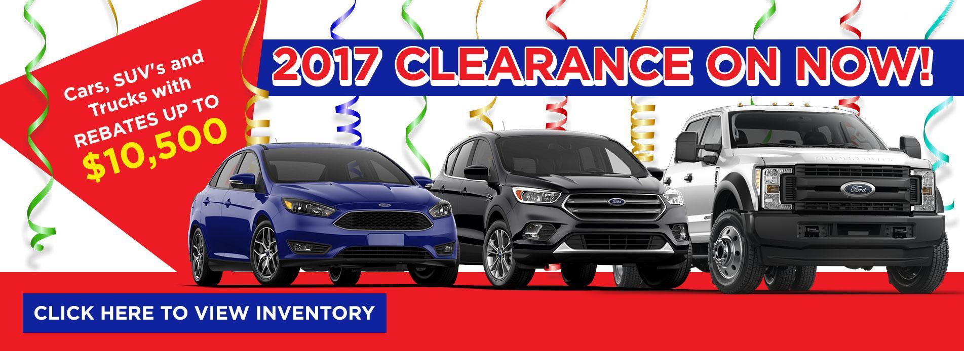 2017 Clearance Watkin Motors
