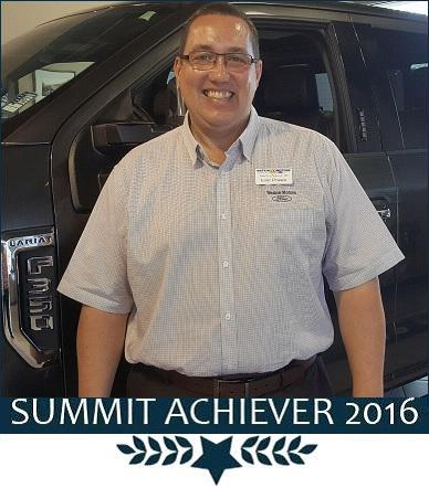 2016 Summit Achievers Winner Lorne