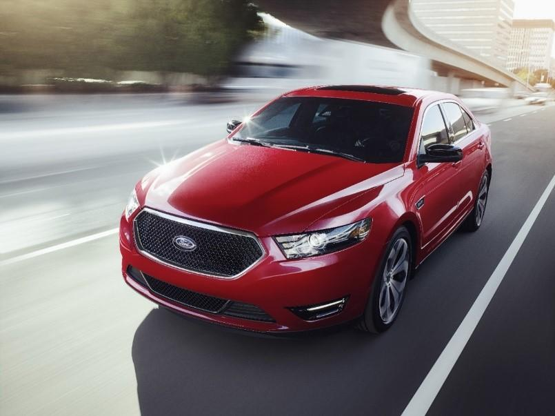 Hit the Road in Style with the New-School Ford Taurus