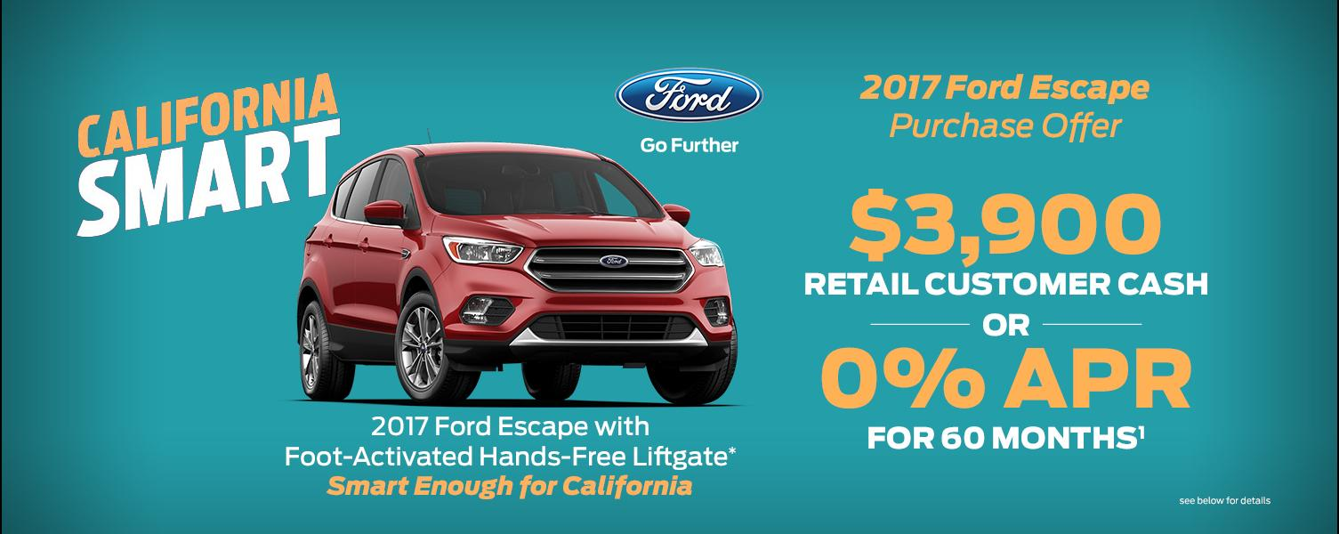 2017 Escape Offer