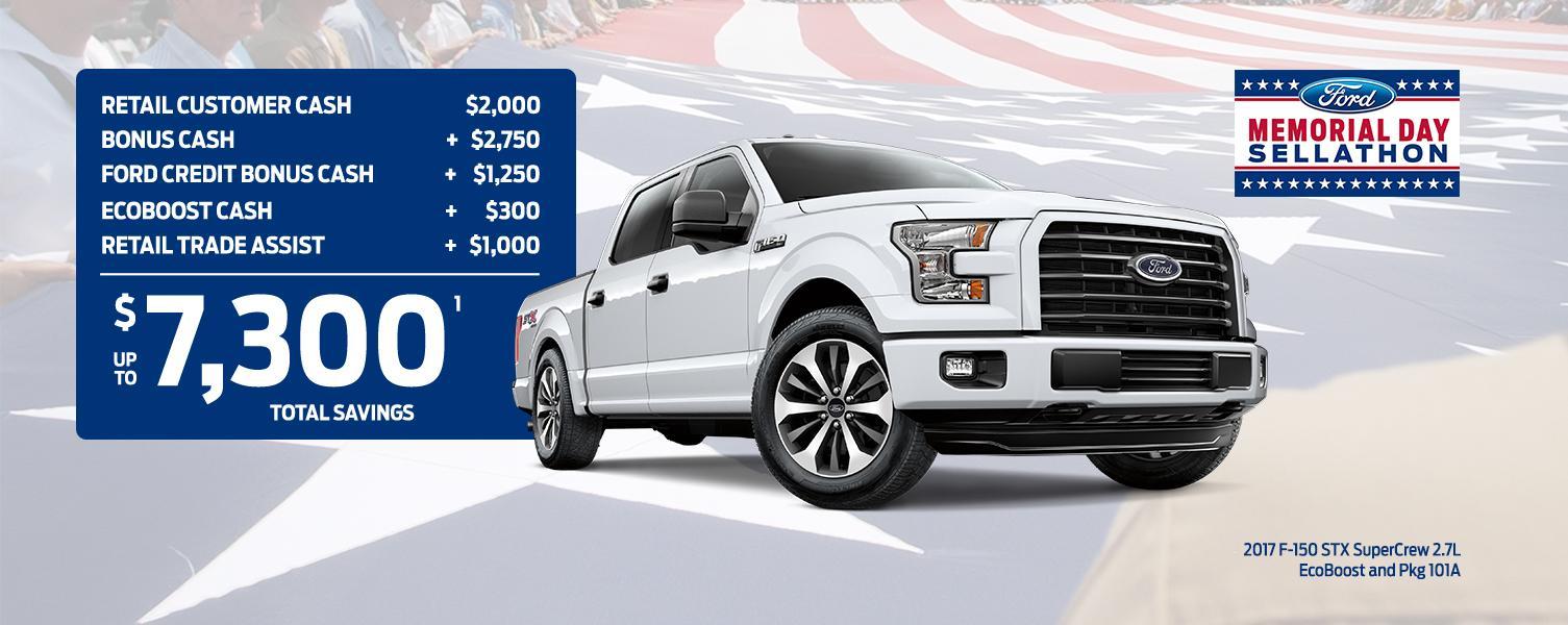 $7300 Total Savings Ford STX