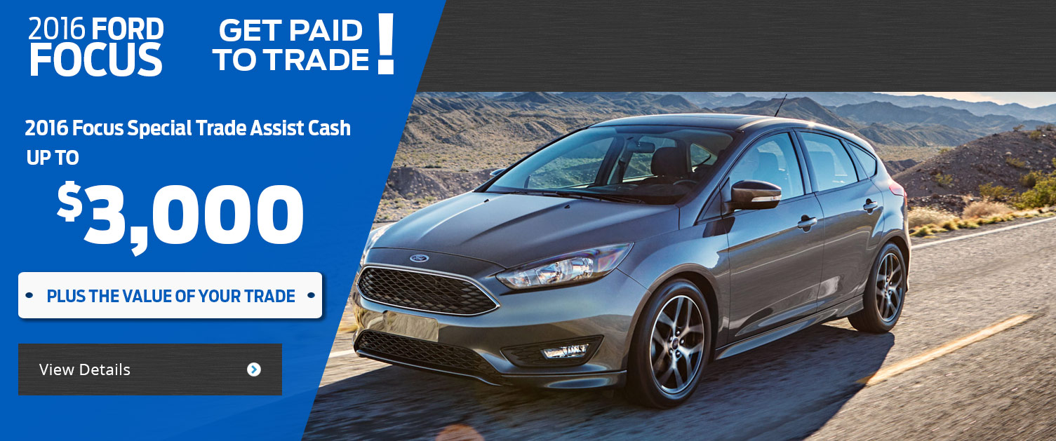 2016 Focus Trade-In Special