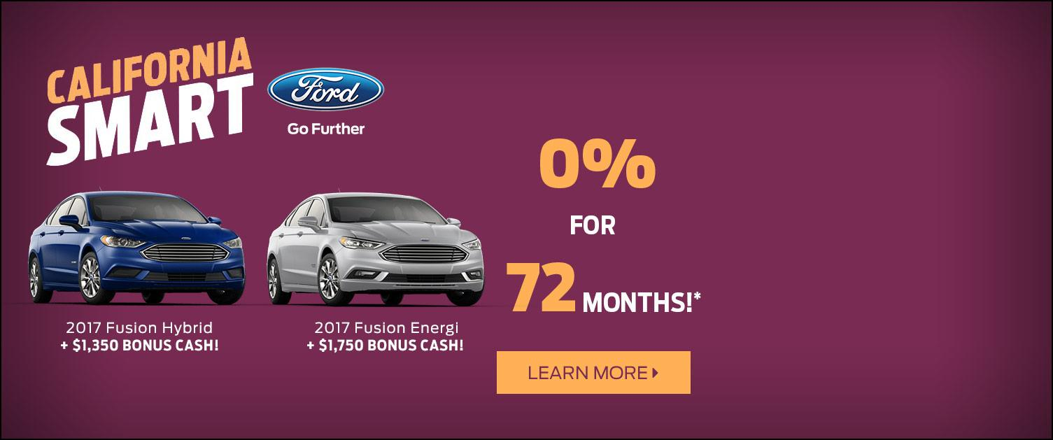 2017 Fusion Hybrid and Energi Purchase Offer