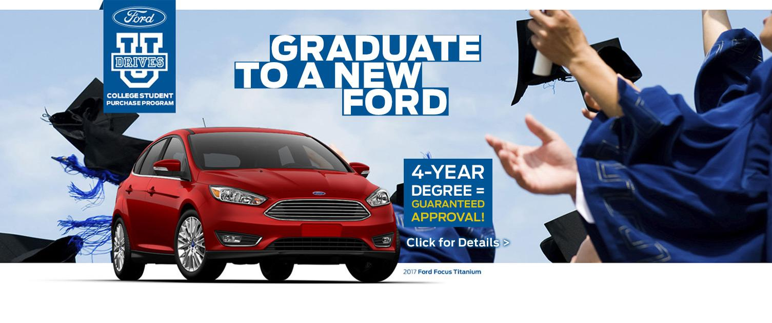 Guaranteed Approval for College Grads!