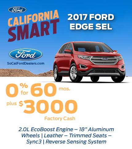 Edge SEL 0% for 60 months plus $3,000
