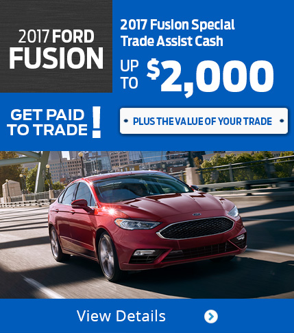 Fusion Get Paid to Trade! Get Paid to Trade! Up to $2,000 More For Your Trade!