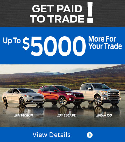 Get Paid to Trade! Up to $5,000 More For Your Trade!