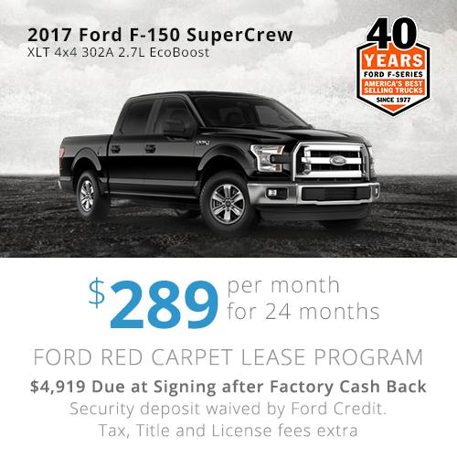 2017 Edge Lease $349