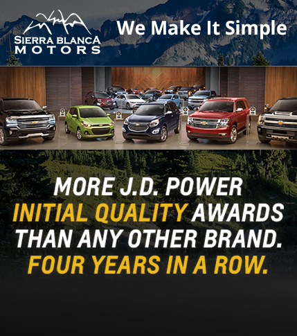 Chevy has more JD Power Awards for initial quality than any other brand - 4 years running.