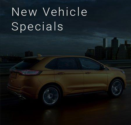 New Vehicle Specials