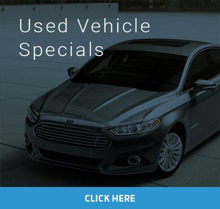 Used Vehicle Specials at Foothills Ford