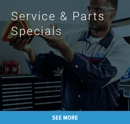 Service & Parts Specials at Foothills Ford