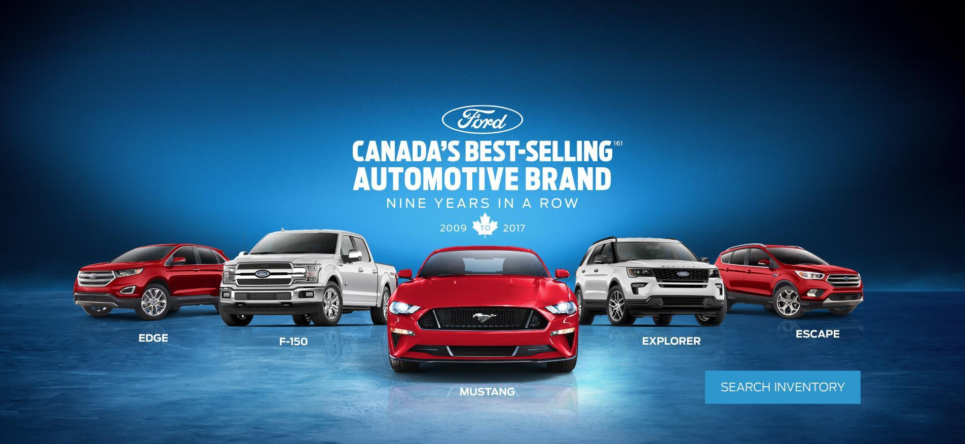 Canada's Best Selling Automotive Brand