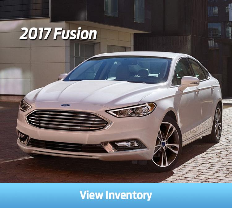 New Ford Fusion Inventory