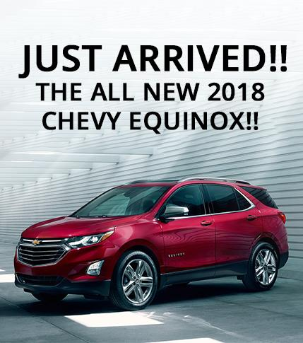 All New 2018 Chevy Equinox