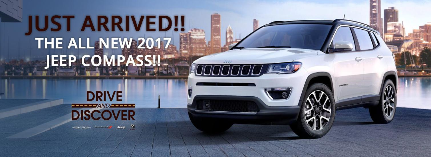 All New 2017 Jeep Compass