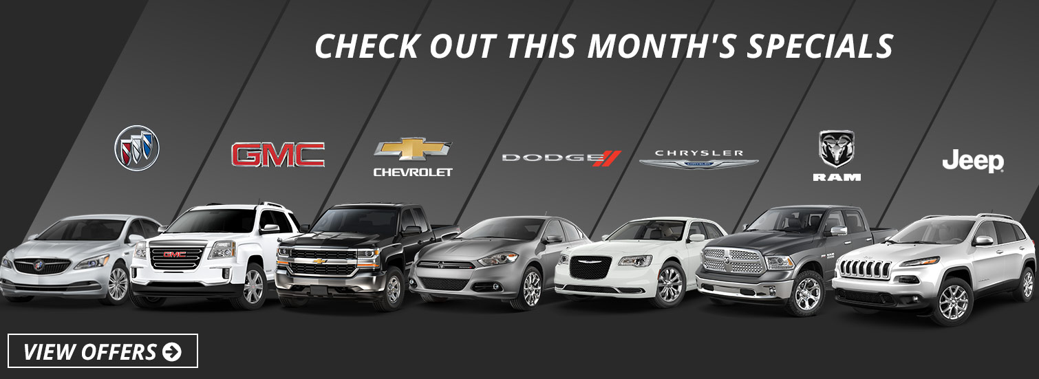 Monthly Specials - Essig Motors