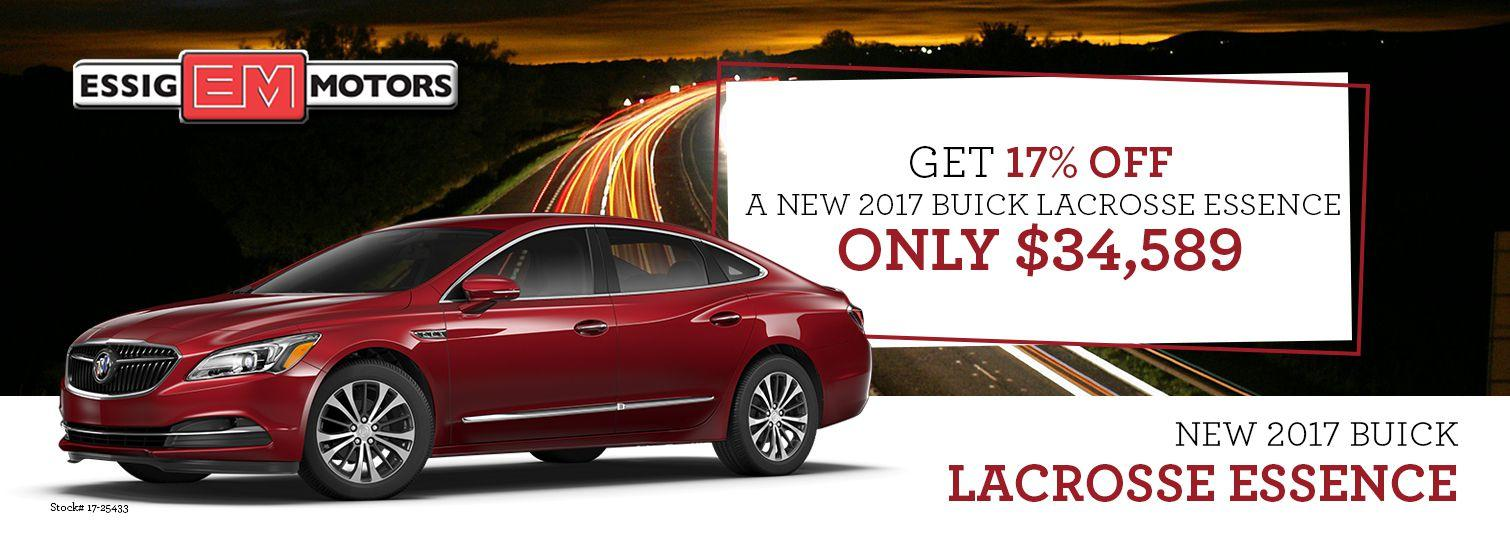 2017 Buick Lacrosse Offer