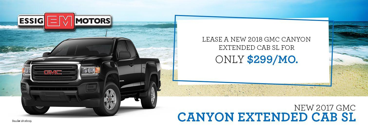 2017 GMC Canyon Offer