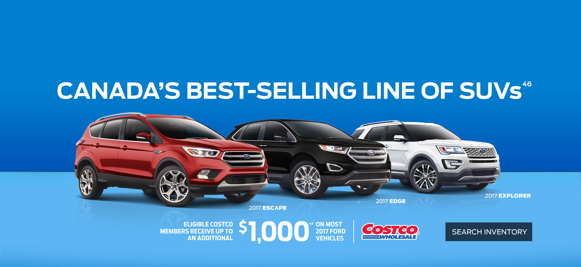 Ford SUV deals at Coastal Ford Vancouver