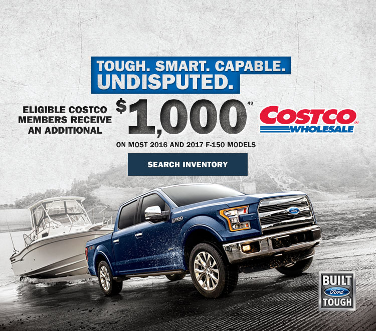 F-150 deals at Coastal Ford Vancouver